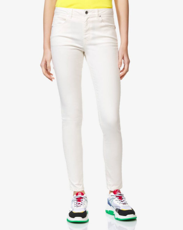 Benetton_Skinny-Fit-Hose weiss