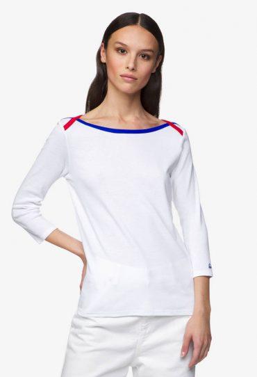 Benetton_T-Shirt mit 3:4-Ärmeln