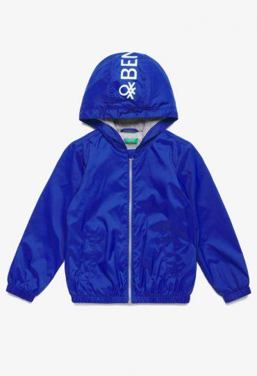 UCB-Bambino Leichte Kapuzenjacke blau