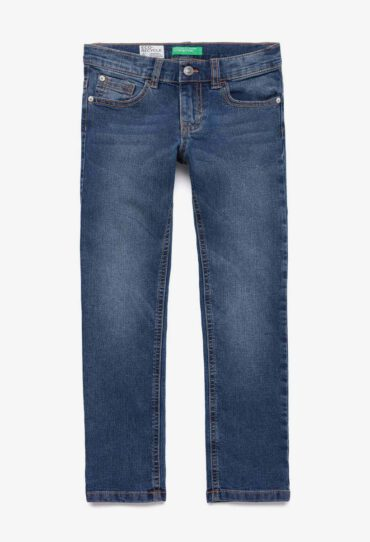 Slim-Fit-Jeans aus Denim Eco-Recycle