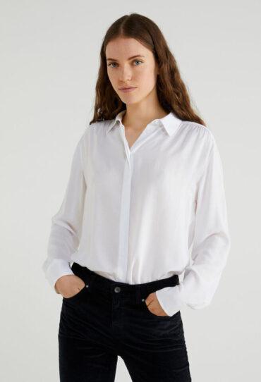 Bluse aus Viskose