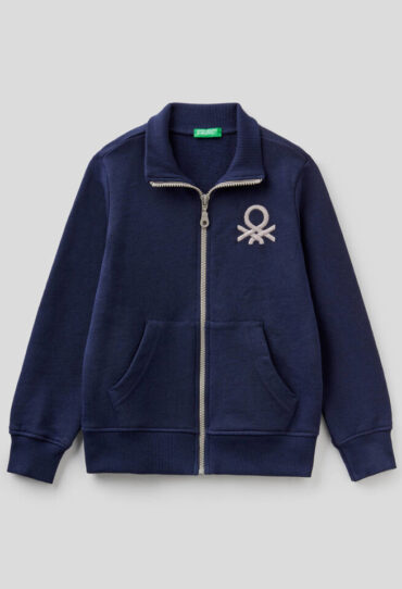 Sweatshirt mit Maxi-Logo