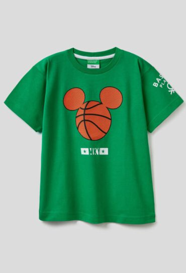 T-Shirt mit Print Disney